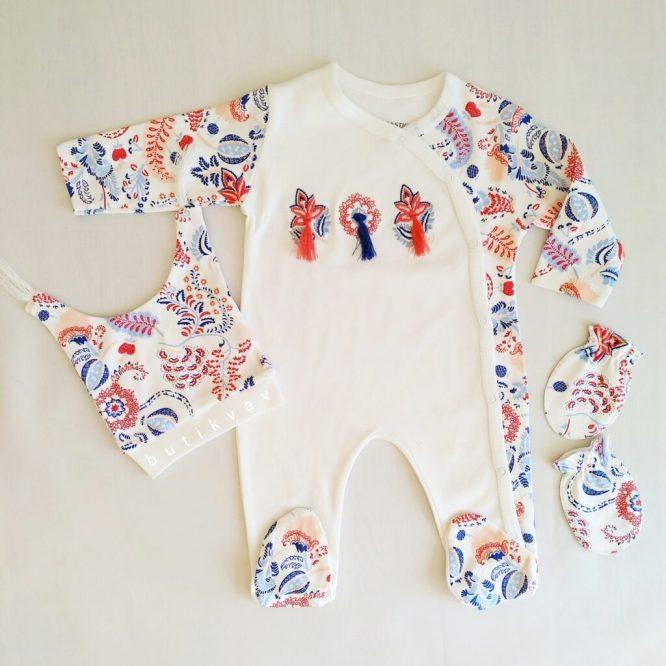 erkek bebek denizci 3 lu tulum seti 3 6 ay kopya 01 scaled - Kız Bebek Püsküllü 3'lü Tulum Seti 3-6 Ay