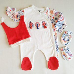 kiz bebek puskullu 3 lu tulum seti 0 3 ay kopya 01 scaled - Kız Bebek Püsküllü 3'lü Tulum Seti 0-3 Ay