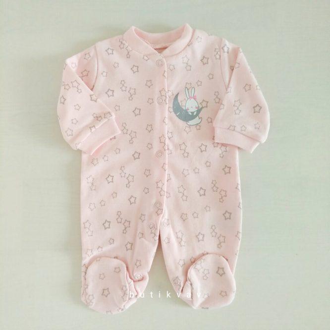 kiz bebek wellsofttulum 0 3 ay 02 scaled - Kız Bebek Prematüre Tulum