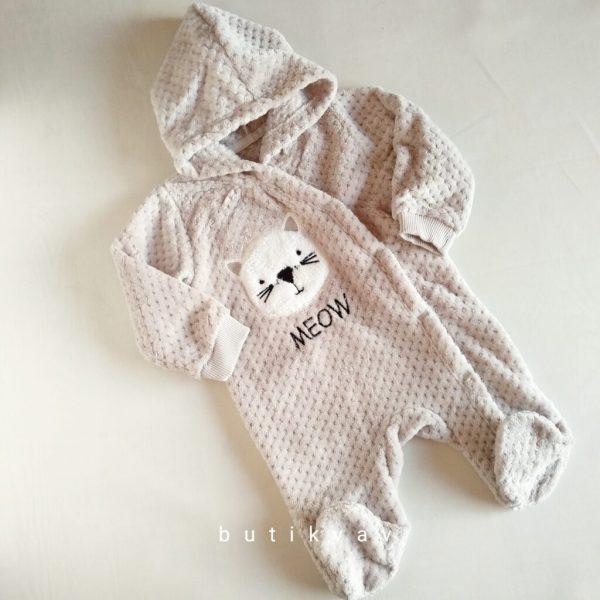 unisex bebek wellsoft tulum 6 9 ay 01 scaled - Unisex Bebek Wellsoft Tulum Gri 6-9 Ay