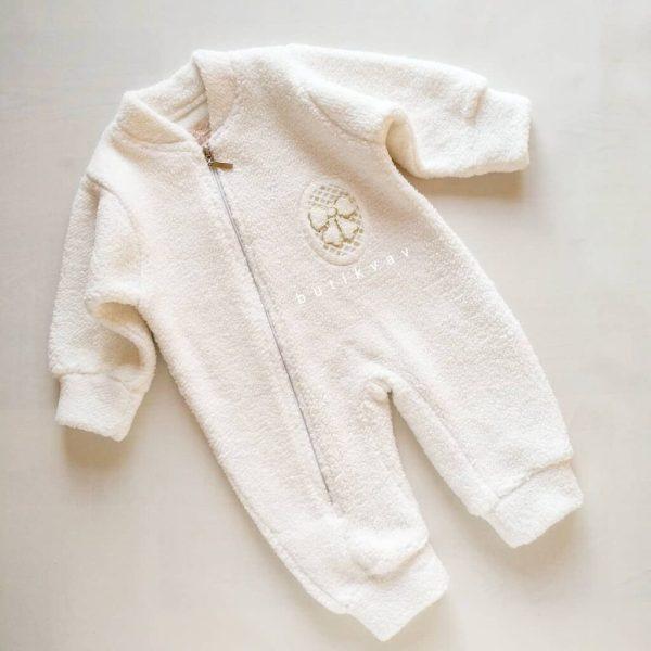 dandini kiz bebek kuzu uyku tulumu 01 scaled - Dandini Kız Bebek Kuzu Uyku Tulumu - 12 Ay