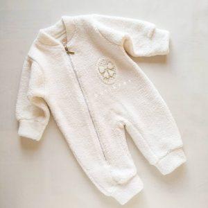 dandini kiz bebek kuzu uyku tulumu 01 scaled - Dandini Kız Bebek Kuzu Uyku Tulumu - 18 Ay