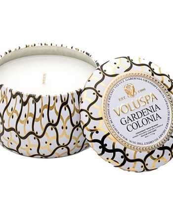Voluspa Tin Candle Gardenia Colonia