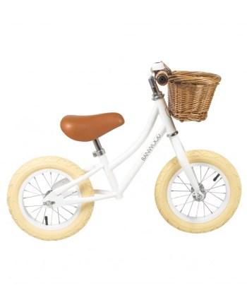 Banwood First go balanscykel vit