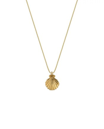 syster p halsband beaches shell guld