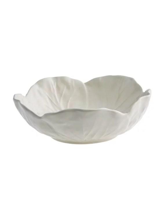 Bordallo Pinheiro Cabbage Skål 15cm Beige