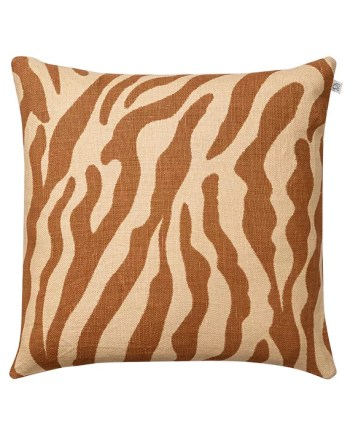Chhatwal & Jonsson Kuddfodral Linen Zebra Beige/Taupe