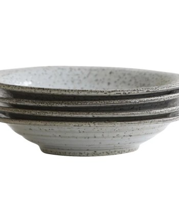 House Doctor Soup plate Rustic grey/blue