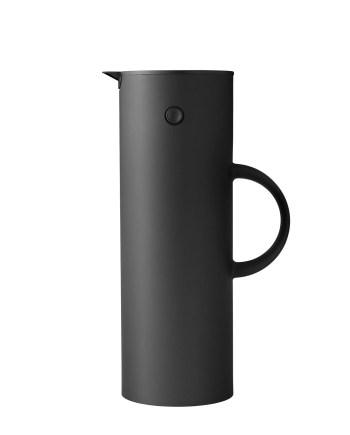 Stelton EM 77 termoskanna 1 L Soft Black