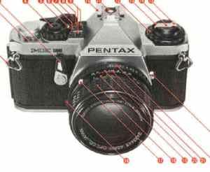 Pentax ME Super instruction manual, user manual, PDF manual, free manuals
