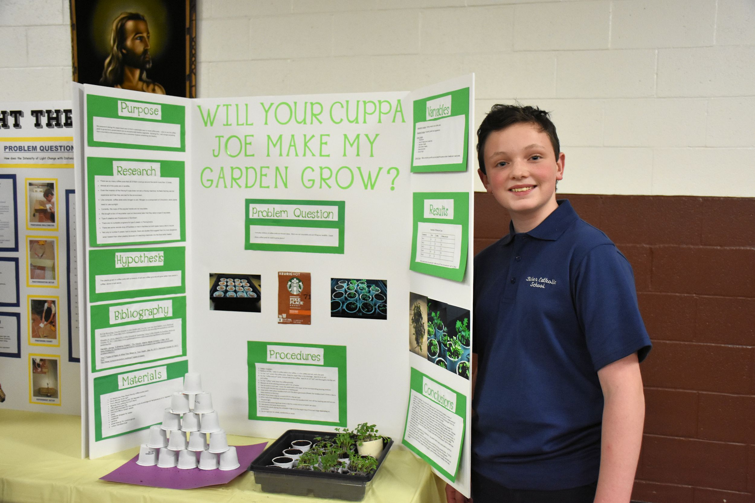 7th And 8th Grade Science Fair Butler Catholic School