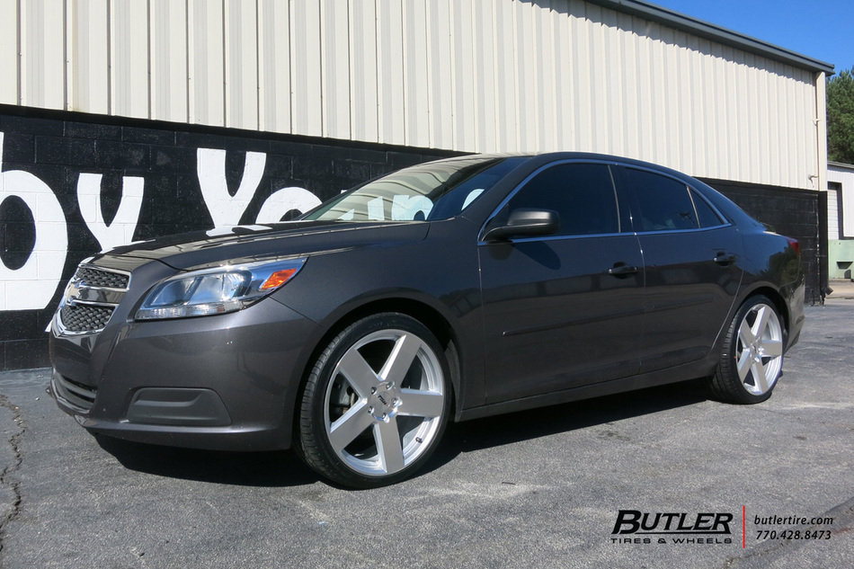Chevrolet Malibu With 20in TSW Bristol Wheels Exclusively