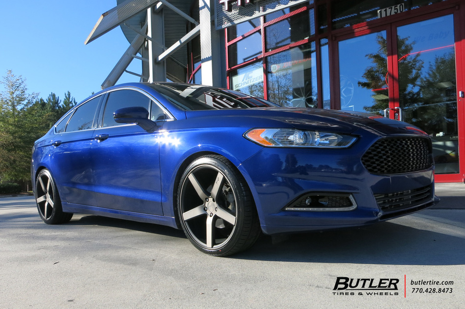Ford Fusion With 20in Niche Milan Wheels Exclusively From
