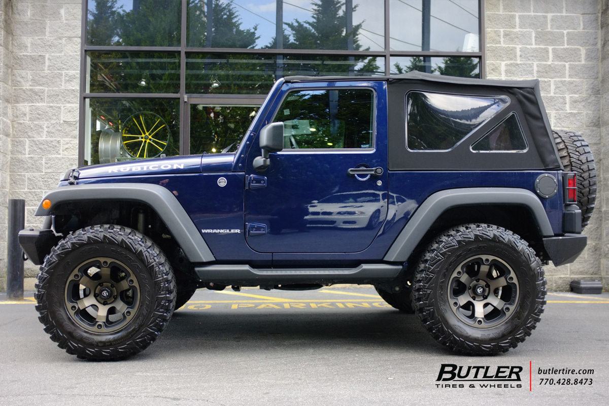 Jeep Wrangler With 17in Fuel Beast Wheels Exclusively From