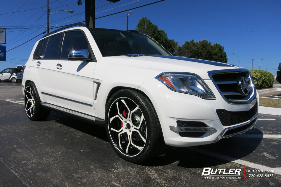 Mercedes GLK With 22in Savini SV53 Wheels Exclusively From