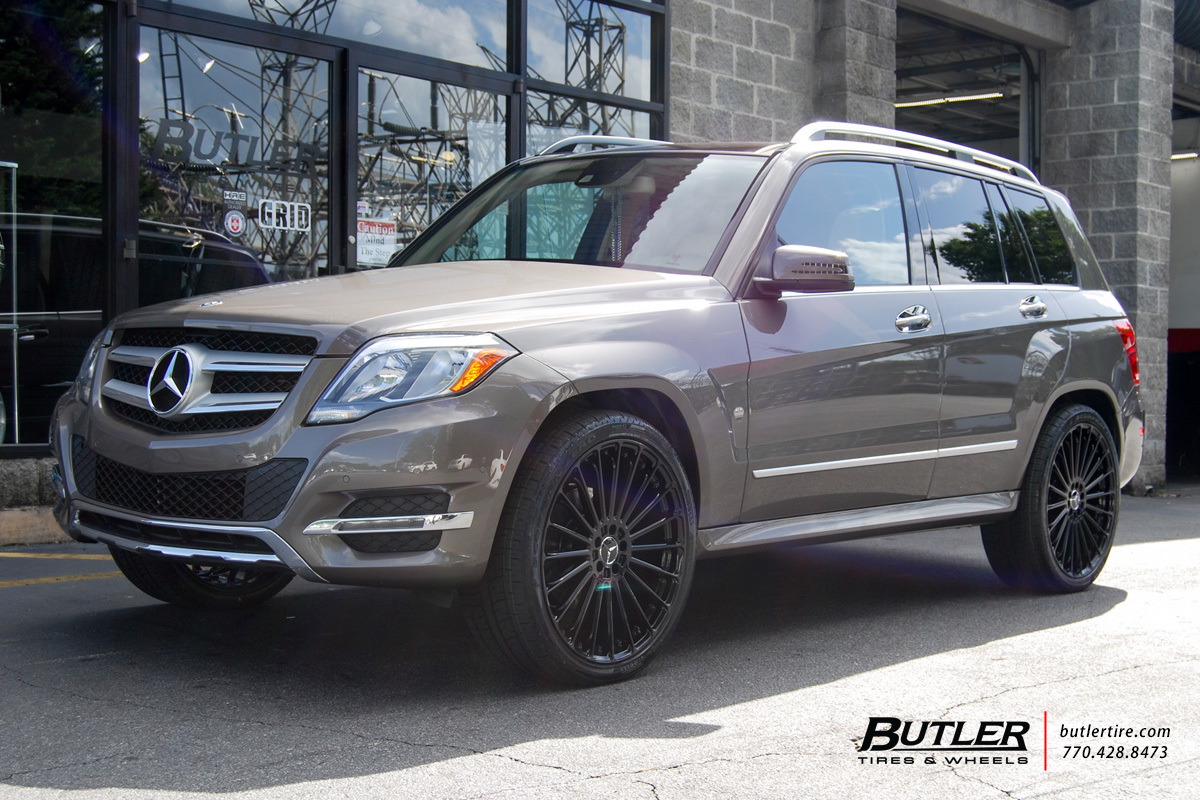 Mercedes GLK With 22in TSW Turbina Wheels Exclusively From