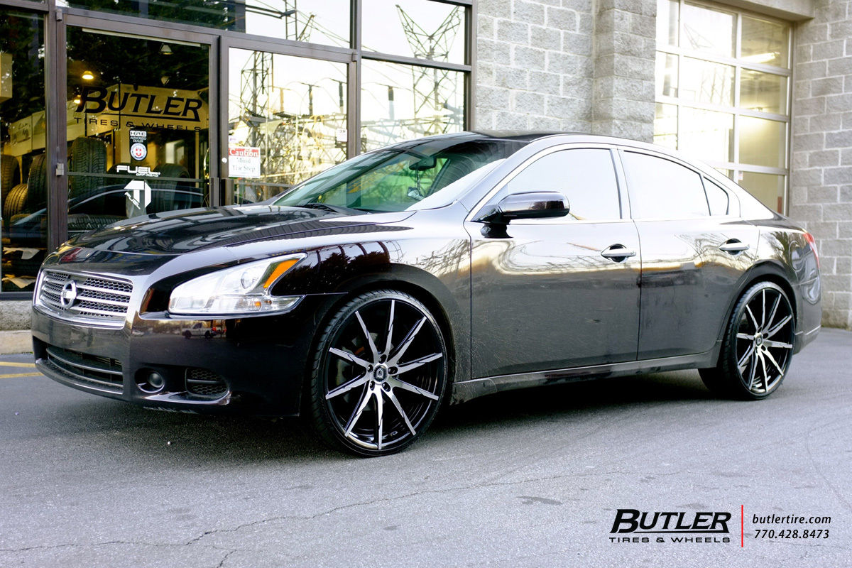 Nissan Maxima With 22in Lexani CSS15 Wheels Exclusively