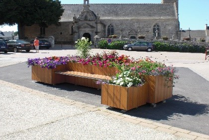 mobilier urbain fabricant de