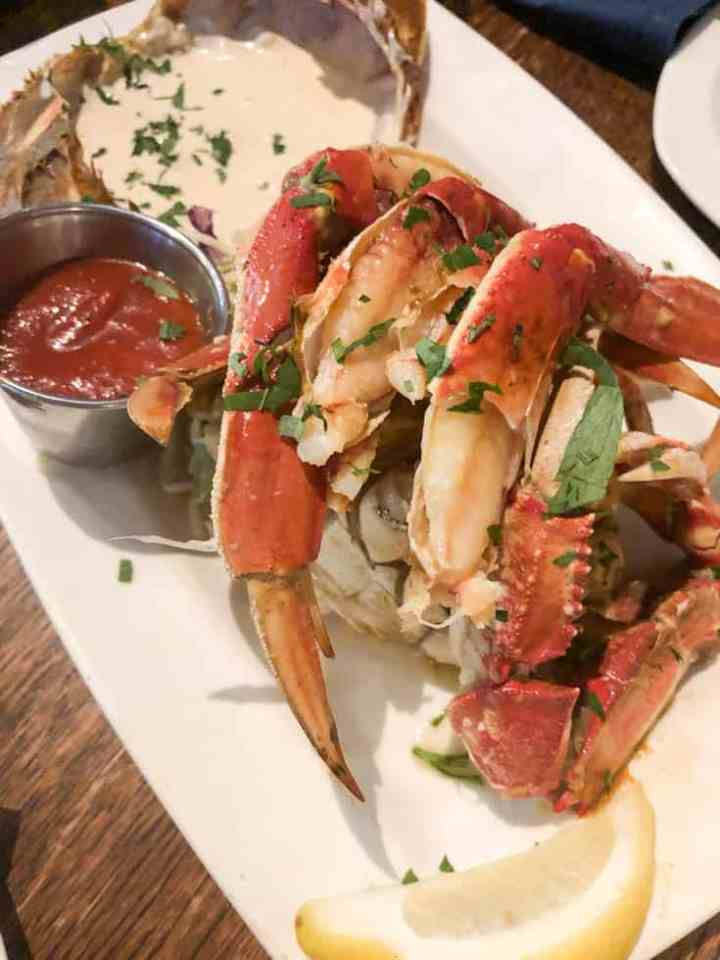 Dungeness Crab at Taylor's Shellfish