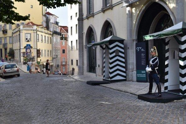 Largo do Carmo, Lisbon, Portugal