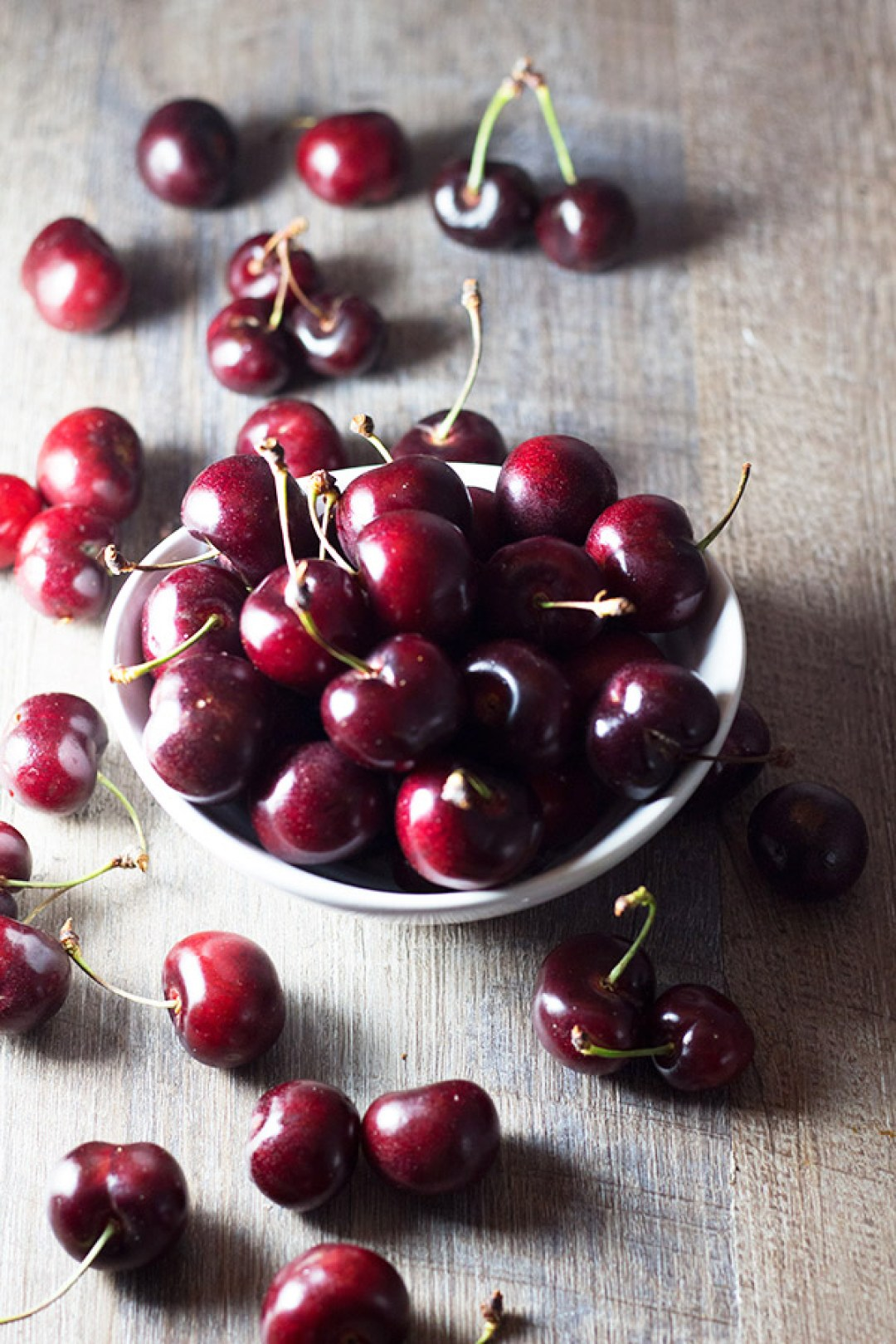 Cherries - I am so excited because stone fruit season is upon us. | butterandthings.com