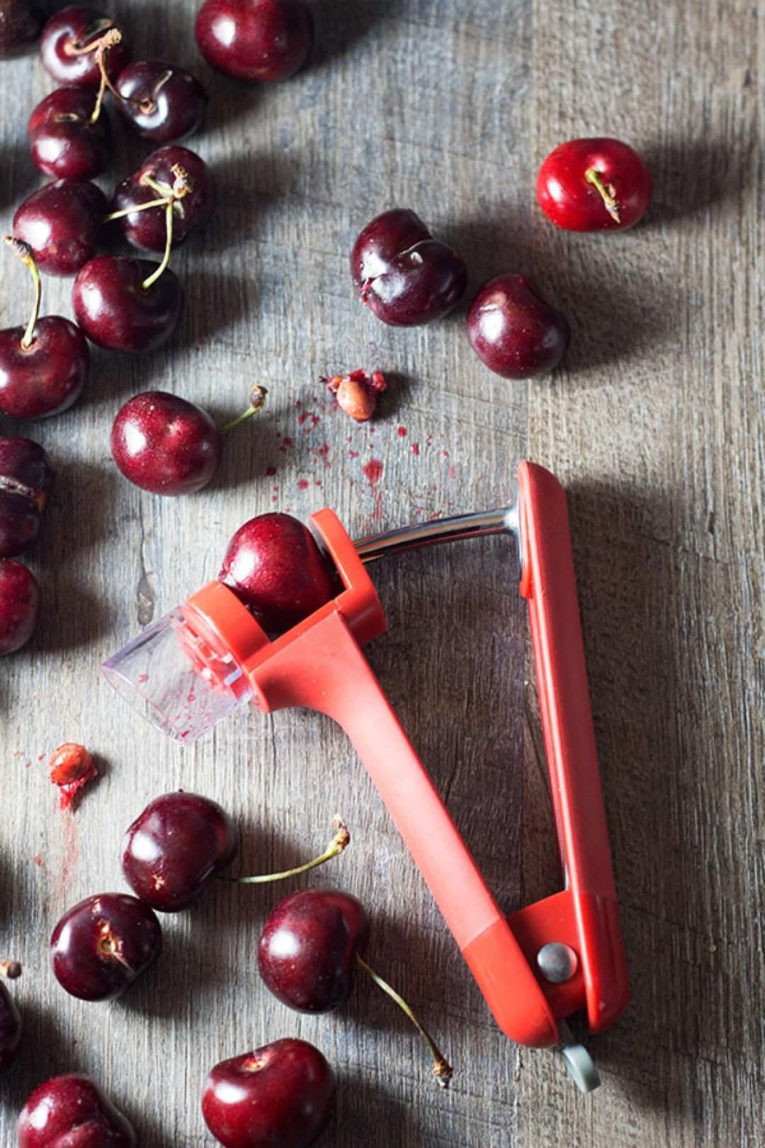 Cherry Pitter - A very handy tool.   butterandthings.com