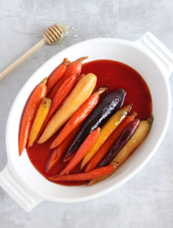 Honey-Glazed-Carrots | www.butterandthings.com