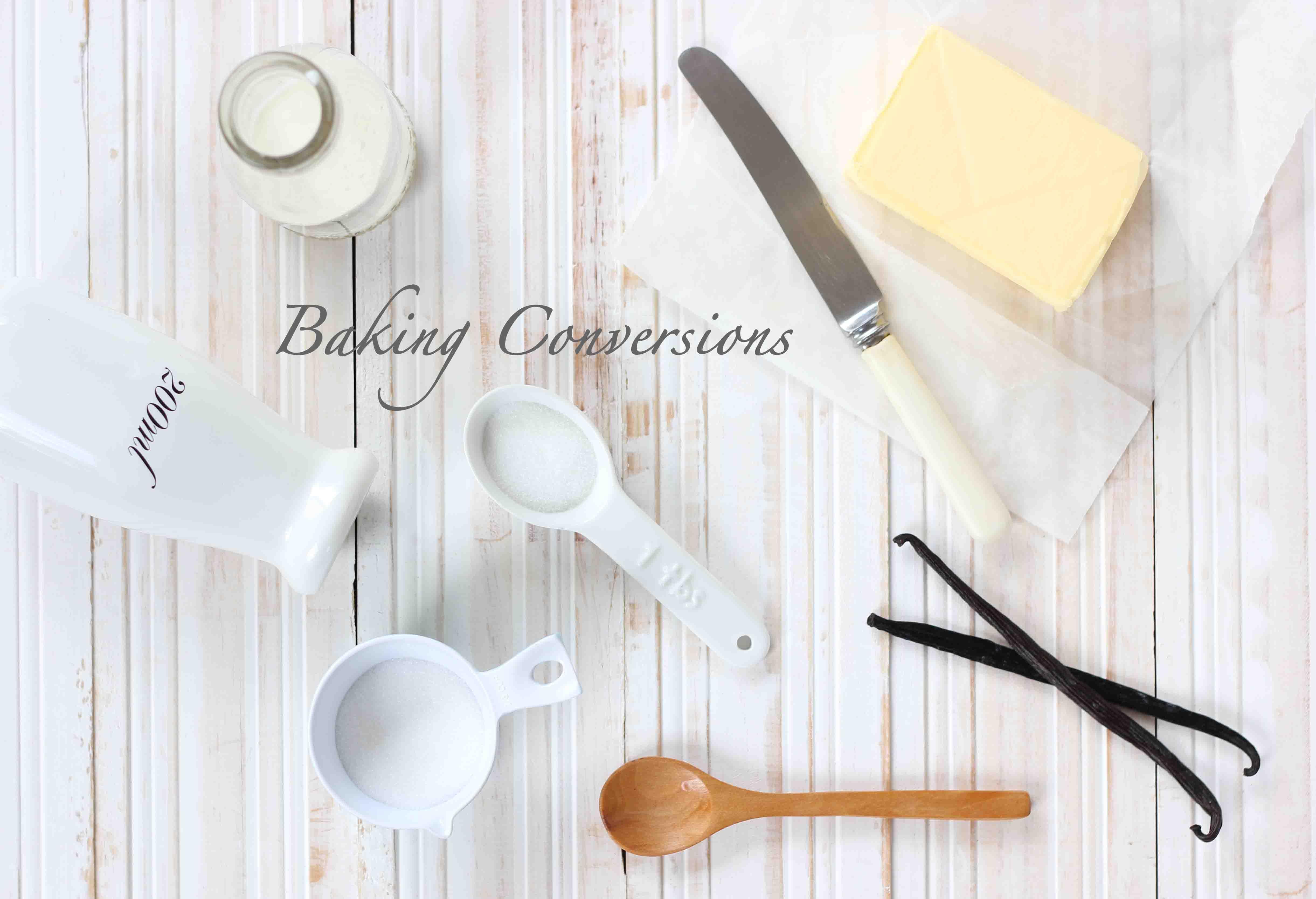 Baking Conversions – Butter Baking