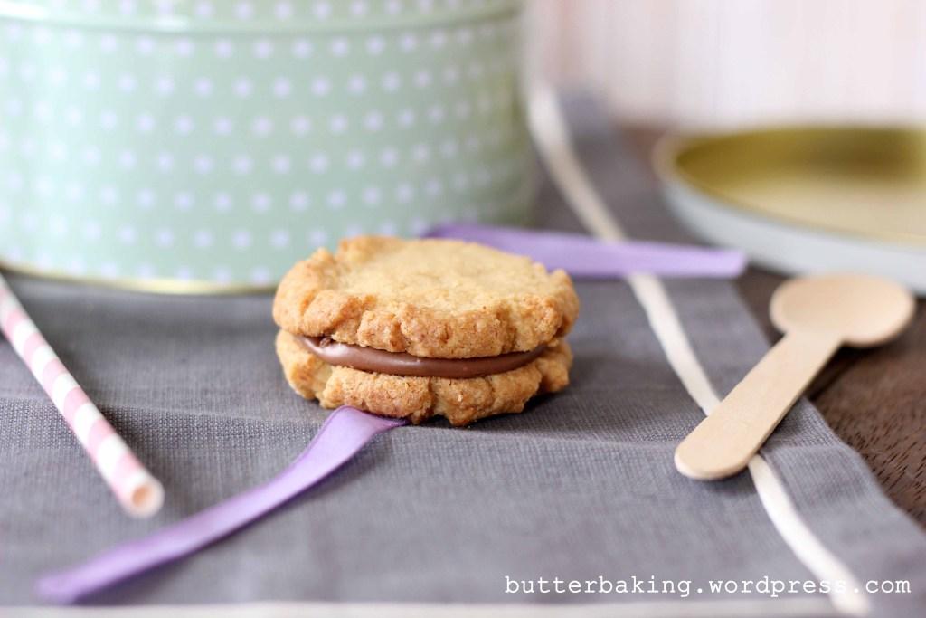 Milk Chocolate Hazelnut Sandwich Cookies (Kingstons)   Butter Baking