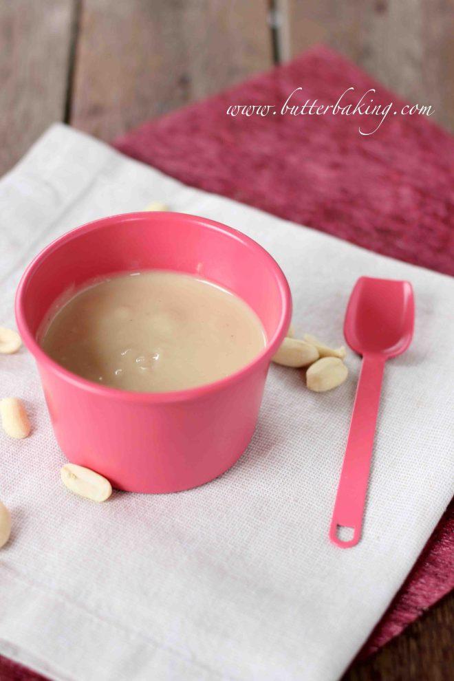Homemade Peanut Butter   Butter Baking