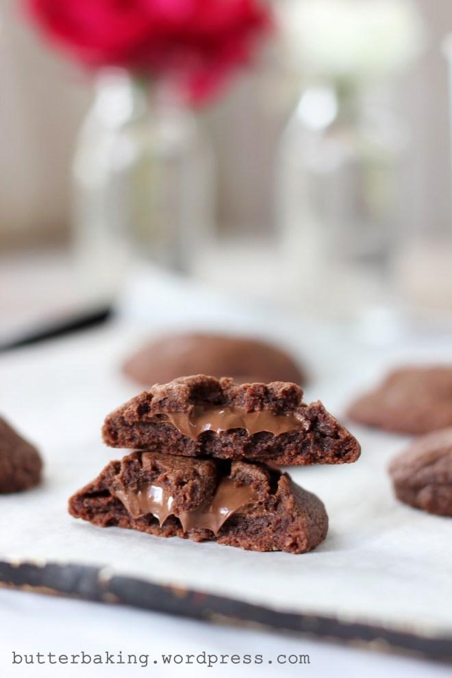 Nutella Stuffed Easy Nutella Cookies | Butter Baking
