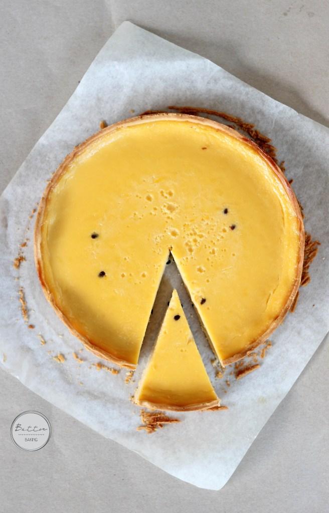Passionfruit tart | Butter Baking