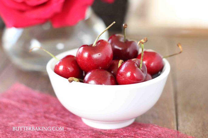 Cherry and Custard Tarts | Butter Baking