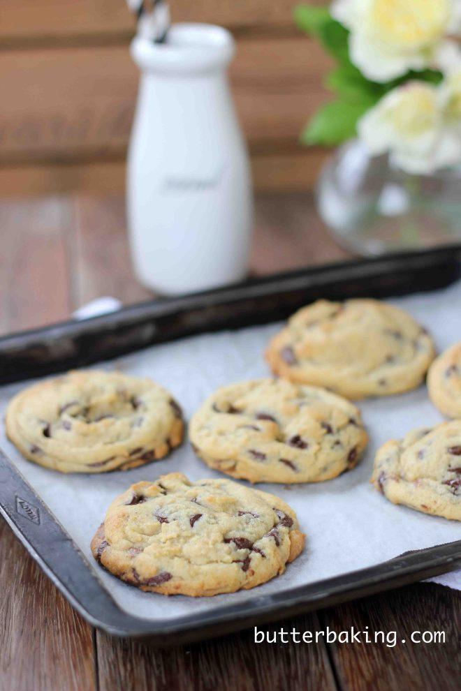 Soft Batch Chocolate Chip Cookies | Butter Baking