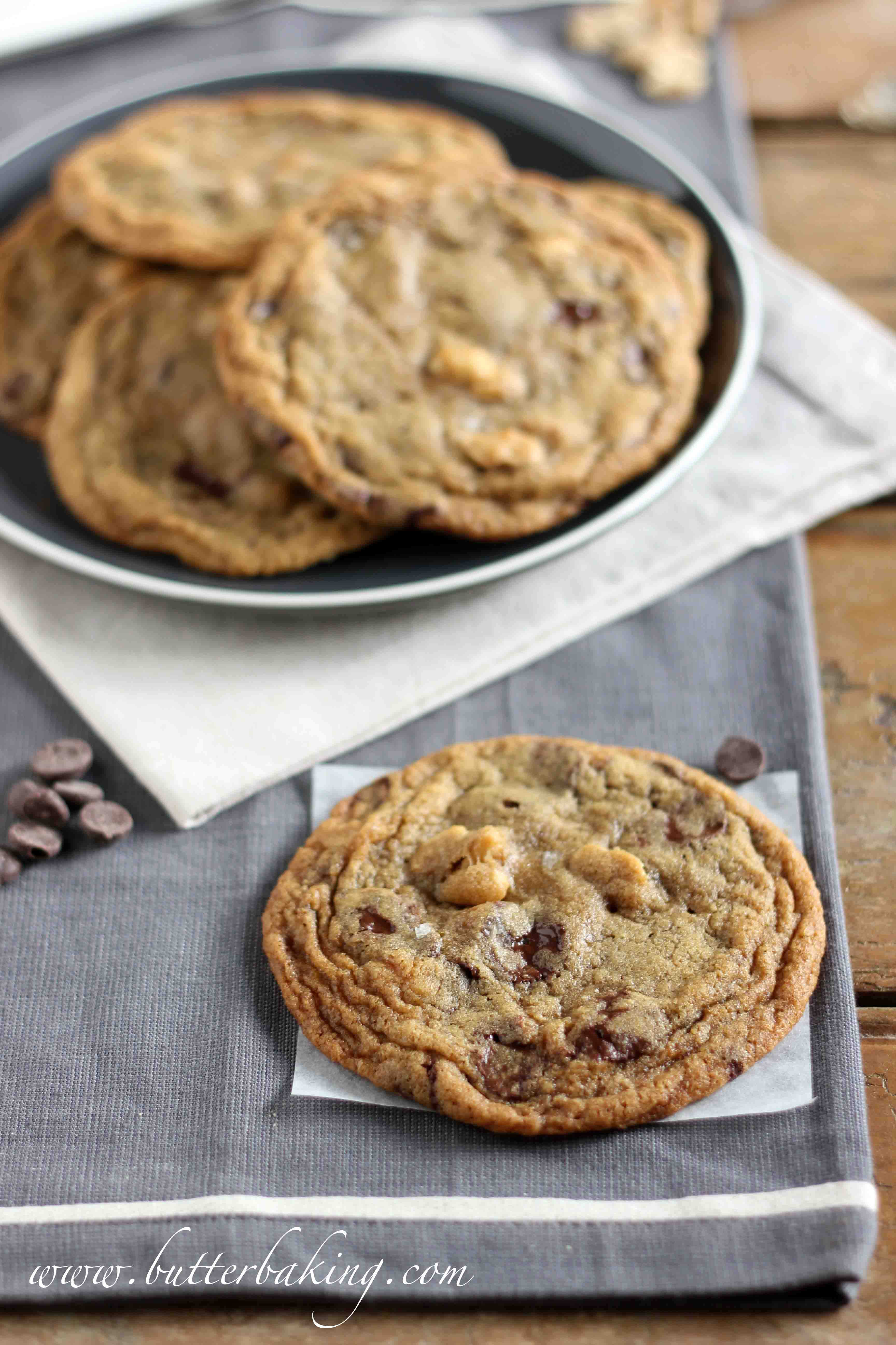 Salted Peanut Chocolate Chip Cookies – Butter Baking