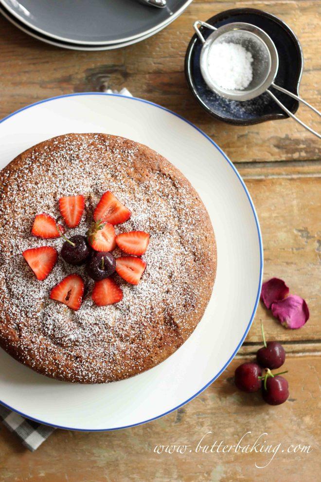 Easy Berry Yogurt Cake | Butter Baking