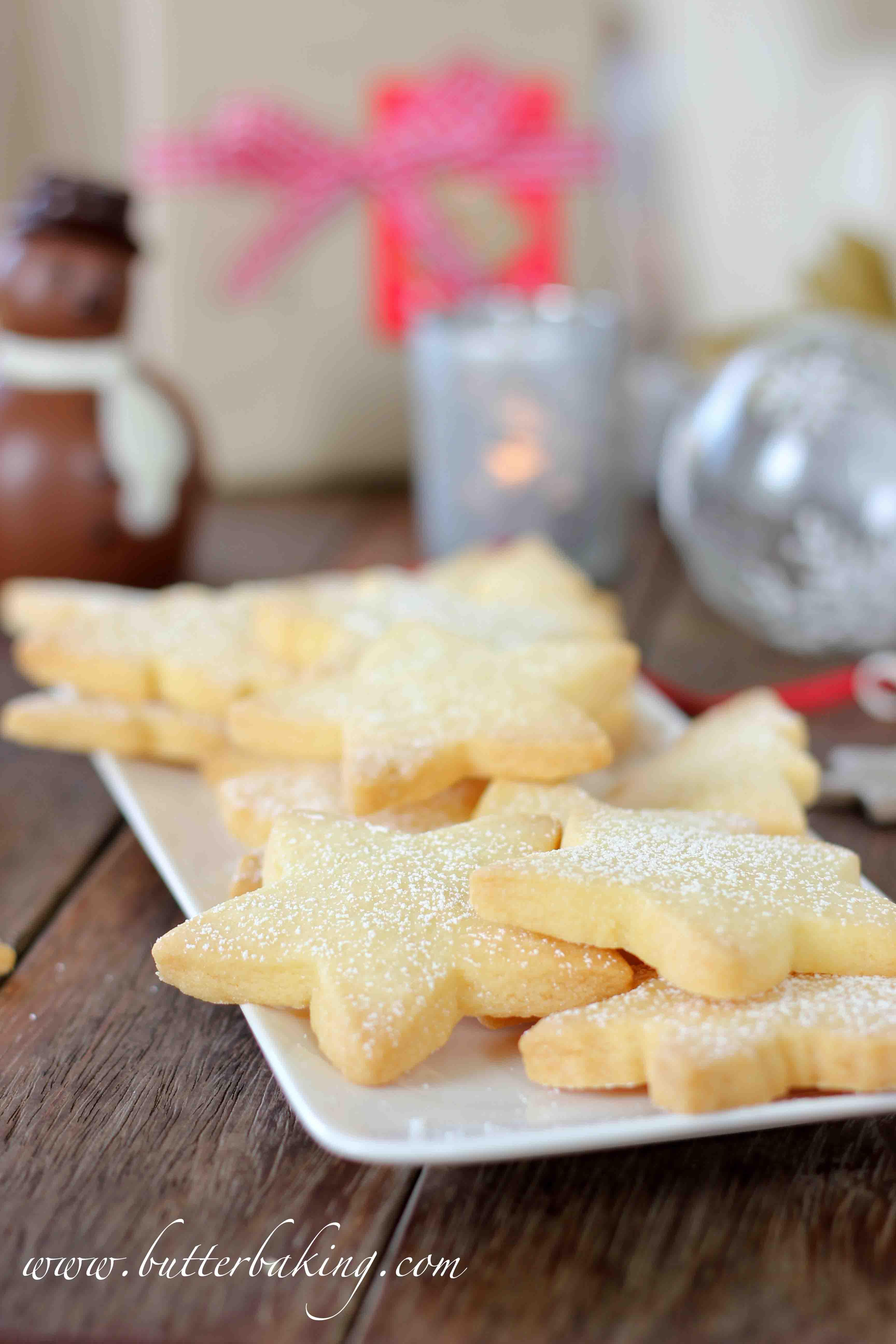 Shortbread Cookies Christmas.Christmas Shortbread Cookies