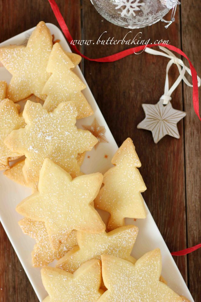Christmas Shortbread Cookies | Butter Baking