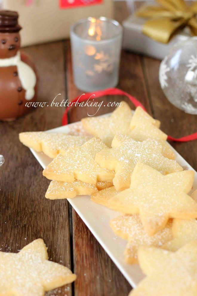 Christmas Shortbread Cookies | Butter Baking