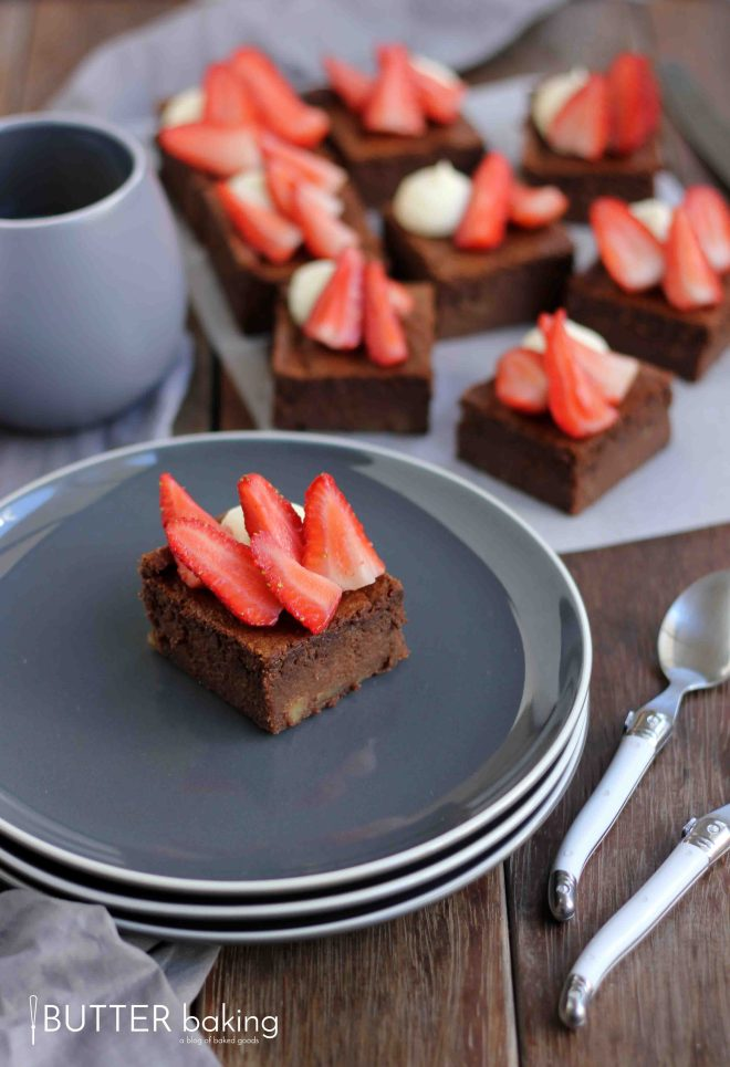Flourless Chocolate Fudge Brownies   Butter Baking