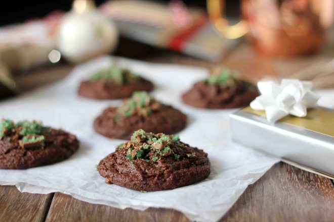 Hot Chocolate Peppermint Cookies | Butter Baking