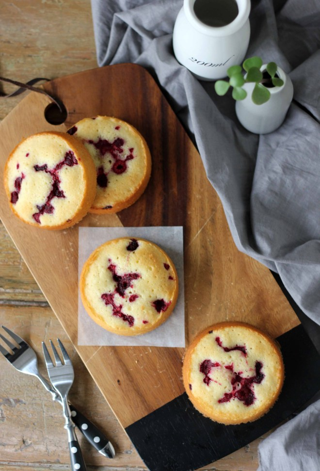 Vanilla and Raspberry Cakes | Butter Baking