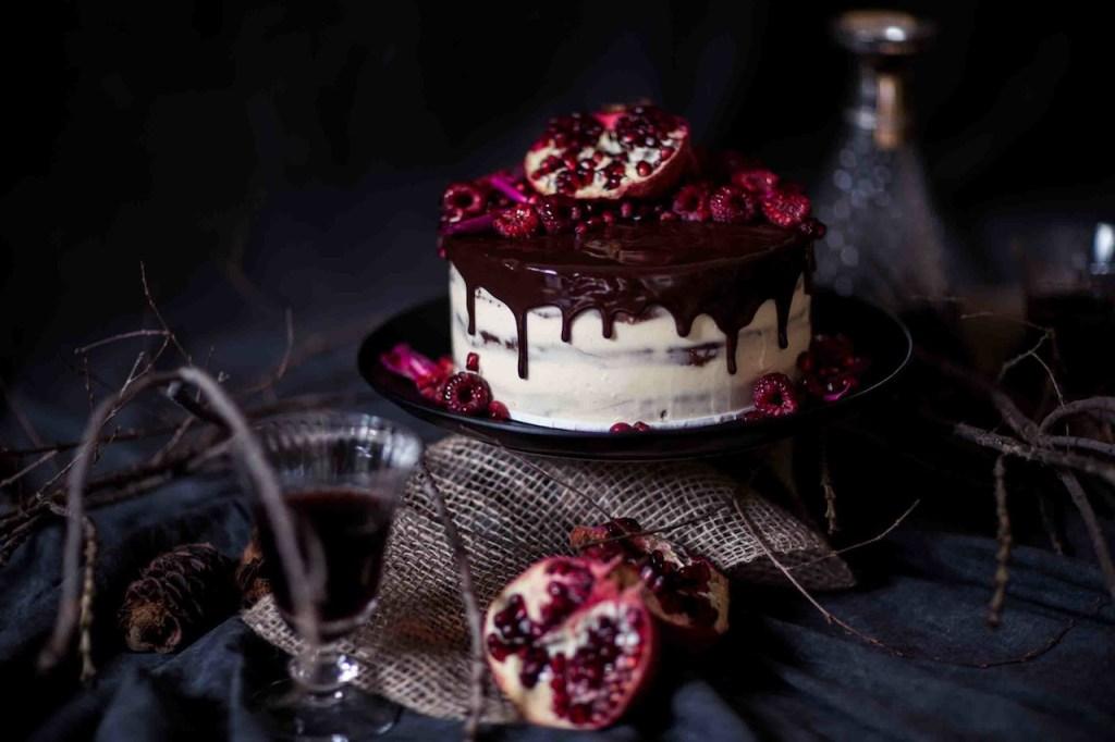 Christmas Chocolate Fruit Cake | Butter Baking