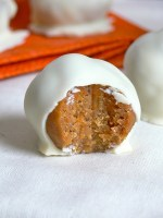 Chai Tea Carrot Cake White Chocolate Truffles