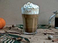 Starbucks Copycat Pumpkin Spice Latte  with Pumpkin Spice Syrup !