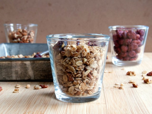 Maple Pecan Cranberry Granola 2