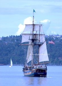 Grays Harbor Historical Seaport Authority's Hawaiian Chieftain at Maritime Fest 2013 in Tacoma Washington