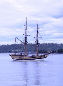 Grays Harbor Historical Seaport's Lady Washington at Maritime Fest 2013 in Tacoma, Washington