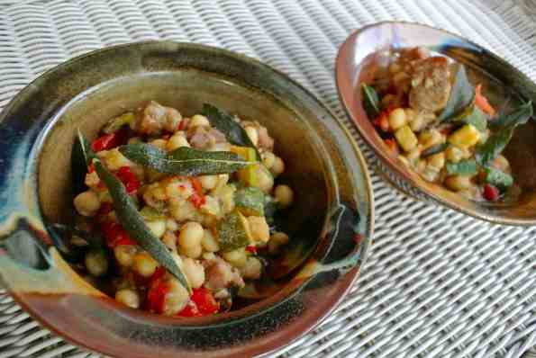 Pork Belly And Shelling Bean Stew