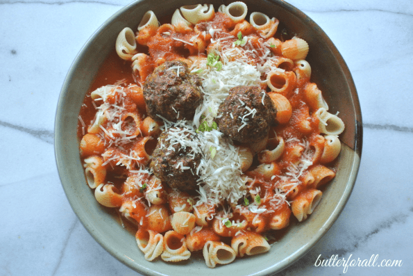 Easy Spring Garlic And Oregano Meatballs